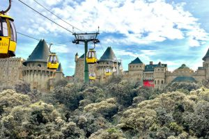 Cáp treo Đà Nẵng đứng đầu Top 10 cáp treo ngoạn mục nhất thế giới