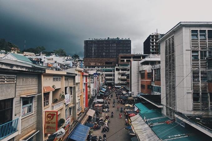 Góc Hong Kong bên hông chợ Đà Lạt