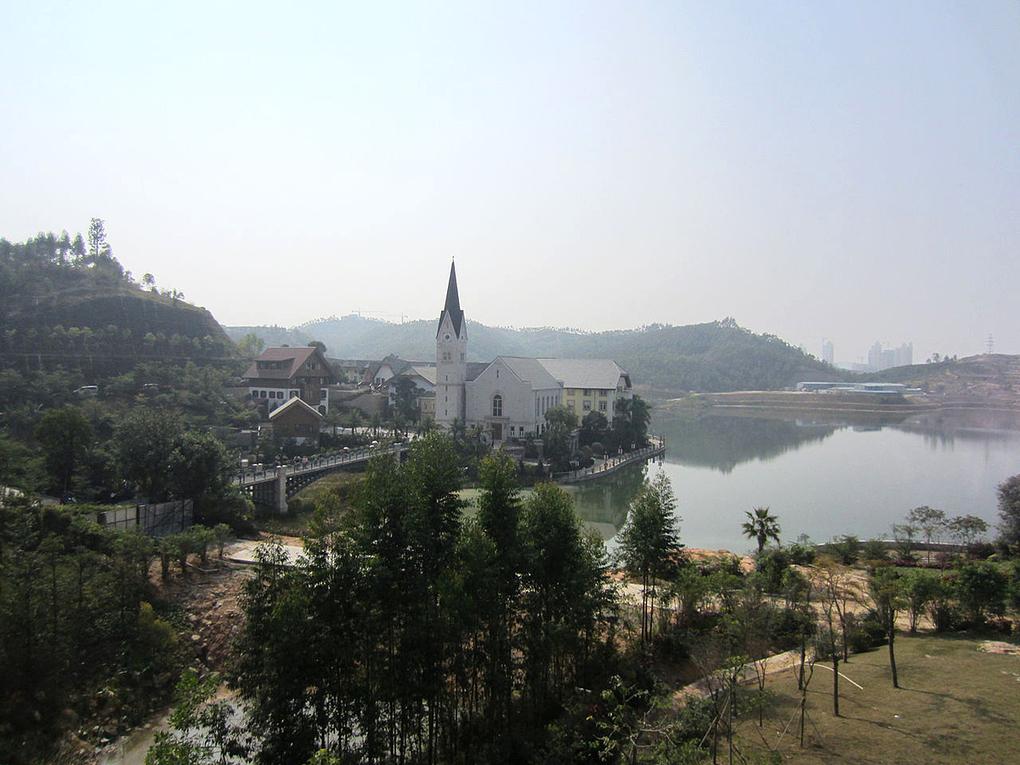 Ngôi làng đẹp nhất thế giới phiên bản Trung Quốc