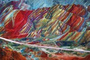 5 ngọn núi bảy sắc cầu vồng đẹp nhất thế giới